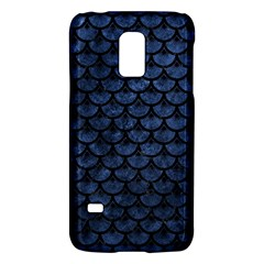 Scales3 Black Marble & Blue Stone (r) Samsung Galaxy S5 Mini Hardshell Case  by trendistuff
