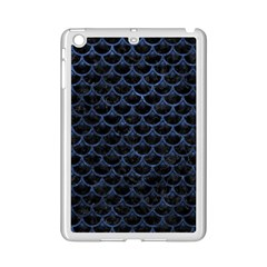 Scales3 Black Marble & Blue Stone Apple Ipad Mini 2 Case (white) by trendistuff