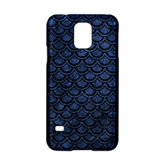 Scales2 Black Marble & Blue Stone (r) Samsung Galaxy S5 Hardshell Case  by trendistuff