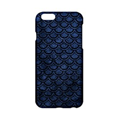 Scales2 Black Marble & Blue Stone (r) Apple Iphone 6/6s Hardshell Case by trendistuff