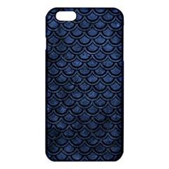 Scales2 Black Marble & Blue Stone (r) Iphone 6 Plus/6s Plus Tpu Case by trendistuff