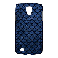 Scales1 Black Marble & Blue Stone (r) Samsung Galaxy S4 Active (i9295) Hardshell Case by trendistuff