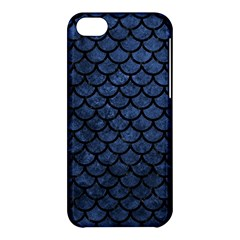 Scales1 Black Marble & Blue Stone (r) Apple Iphone 5c Hardshell Case by trendistuff