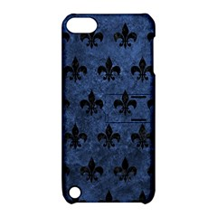 Royal1 Black Marble & Blue Stone Apple Ipod Touch 5 Hardshell Case With Stand by trendistuff