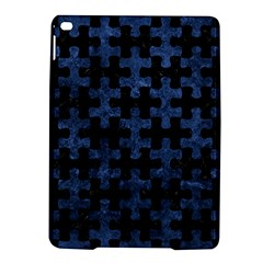 Puzzle1 Black Marble & Blue Stone Apple Ipad Air 2 Hardshell Case by trendistuff