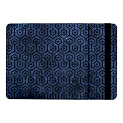 Hexagon1 Black Marble & Blue Stone (r) Samsung Galaxy Tab Pro 10 1  Flip Case by trendistuff