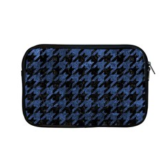 Houndstooth1 Black Marble & Blue Stone Apple Macbook Pro 13  Zipper Case by trendistuff