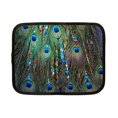 Peacock Jewelery Netbook Case (small)  by Simbadda