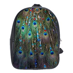 Peacock Jewelery School Bags(large)