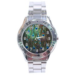 Peacock Jewelery Stainless Steel Analogue Watch by Simbadda