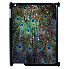 Peacock Jewelery Apple Ipad 2 Case (black) by Simbadda