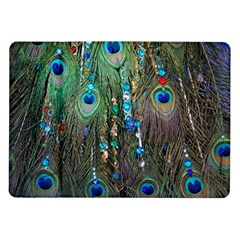 Peacock Jewelery Samsung Galaxy Tab 10 1  P7500 Flip Case by Simbadda