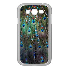 Peacock Jewelery Samsung Galaxy Grand Duos I9082 Case (white) by Simbadda