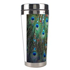 Peacock Jewelery Stainless Steel Travel Tumblers by Simbadda