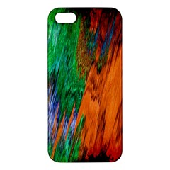 Watercolor Grunge Background Iphone 5s/ Se Premium Hardshell Case by Simbadda