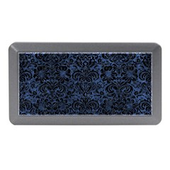 Damask2 Black Marble & Blue Stone (r) Memory Card Reader (mini) by trendistuff
