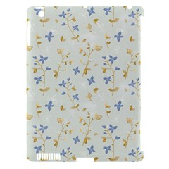Vintage Hand Drawn Floral Background Apple Ipad 3/4 Hardshell Case (compatible With Smart Cover) by TastefulDesigns