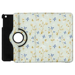 Vintage Hand Drawn Floral Background Apple Ipad Mini Flip 360 Case by TastefulDesigns