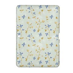 Vintage Hand Drawn Floral Background Samsung Galaxy Tab 2 (10 1 ) P5100 Hardshell Case  by TastefulDesigns
