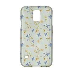 Vintage Hand Drawn Floral Background Samsung Galaxy S5 Hardshell Case  by TastefulDesigns
