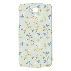 Vintage Hand Drawn Floral Background Samsung Galaxy Mega I9200 Hardshell Back Case by TastefulDesigns