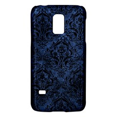 Damask1 Black Marble & Blue Stone (r) Samsung Galaxy S5 Mini Hardshell Case  by trendistuff