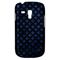 Circles3 Black Marble & Blue Stone (r) Samsung Galaxy S3 Mini I8190 Hardshell Case by trendistuff