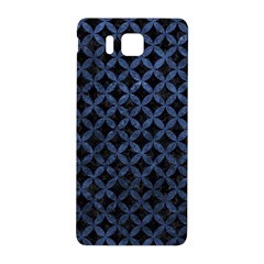 Circles3 Black Marble & Blue Stone Samsung Galaxy Alpha Hardshell Back Case by trendistuff