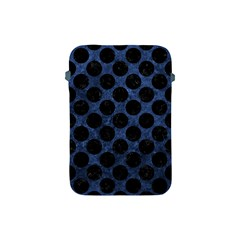 Circles2 Black Marble & Blue Stone (r) Apple Ipad Mini Protective Soft Case by trendistuff