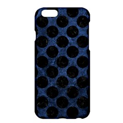 Circles2 Black Marble & Blue Stone (r) Apple Iphone 6 Plus/6s Plus Hardshell Case by trendistuff
