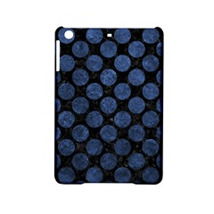 Circles2 Black Marble & Blue Stone Apple Ipad Mini 2 Hardshell Case by trendistuff
