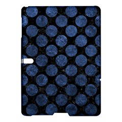 Circles2 Black Marble & Blue Stone Samsung Galaxy Tab S (10 5 ) Hardshell Case  by trendistuff