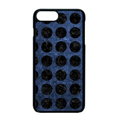 Circles1 Black Marble & Blue Stone (r) Apple Iphone 7 Plus Seamless Case (black) by trendistuff