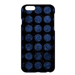 Circles1 Black Marble & Blue Stone Apple Iphone 6 Plus/6s Plus Hardshell Case by trendistuff