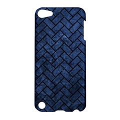 Brick2 Black Marble & Blue Stone (r) Apple Ipod Touch 5 Hardshell Case by trendistuff