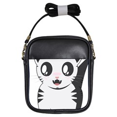 Meow Girls Sling Bags by evpoe
