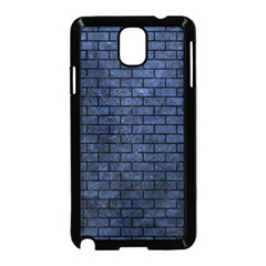 Brick1 Black Marble & Blue Stone (r) Samsung Galaxy Note 3 Neo Hardshell Case (black) by trendistuff