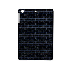 Brick1 Black Marble & Blue Stone Apple Ipad Mini 2 Hardshell Case by trendistuff