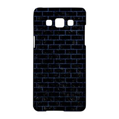 Brick1 Black Marble & Blue Stone Samsung Galaxy A5 Hardshell Case  by trendistuff