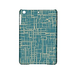 Hand Drawn Lines Background In Vintage Style Ipad Mini 2 Hardshell Cases by TastefulDesigns
