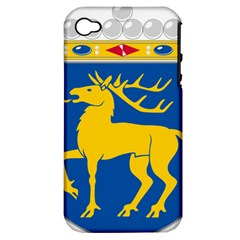 Coat Of Arms Of Aland Apple Iphone 4/4s Hardshell Case (pc+silicone) by abbeyz71