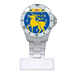 Coat Of Arms Of Aland Plastic Nurses Watch by abbeyz71