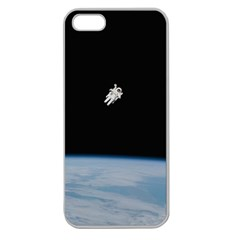 Amazing Stunning Astronaut Amazed Apple Seamless Iphone 5 Case (clear) by Simbadda