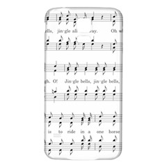 Jingle Bells Song Christmas Carol Samsung Galaxy S5 Back Case (white) by Simbadda