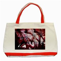 Jellyfish Ballet Wind Classic Tote Bag (red) by Simbadda