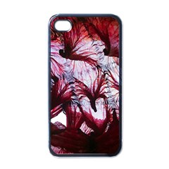 Jellyfish Ballet Wind Apple Iphone 4 Case (black) by Simbadda