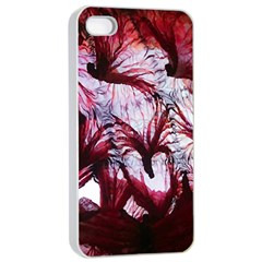 Jellyfish Ballet Wind Apple Iphone 4/4s Seamless Case (white) by Simbadda