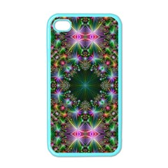 Digital Kaleidoscope Apple Iphone 4 Case (color) by Simbadda