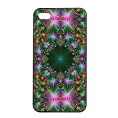 Digital Kaleidoscope Apple Iphone 4/4s Seamless Case (black) by Simbadda