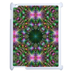Digital Kaleidoscope Apple Ipad 2 Case (white) by Simbadda